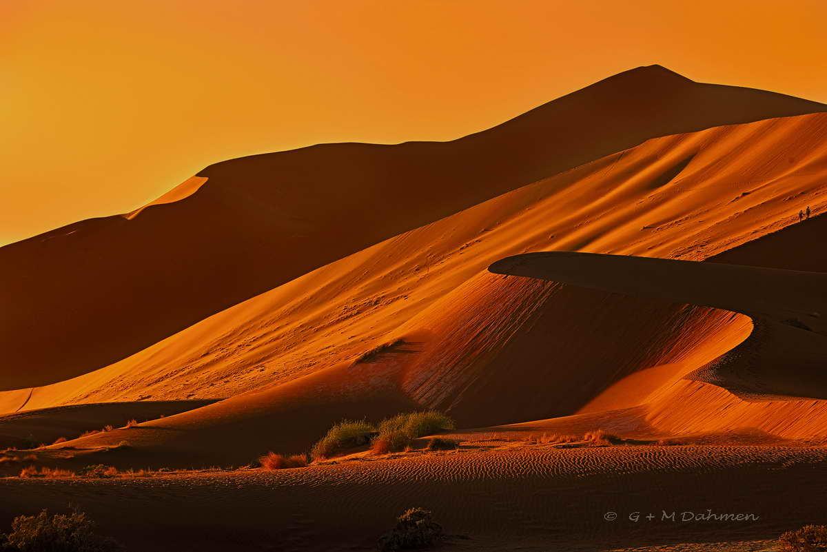 Die Roten Dünen von Namibia