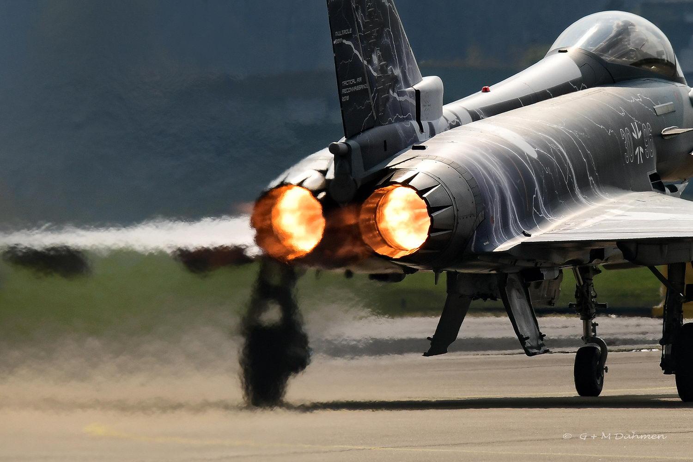 Eurofighter beim Start