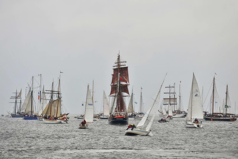 Segelschiffe Kieler Woche